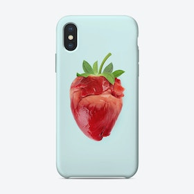 Strawberry Heart iPhone Case