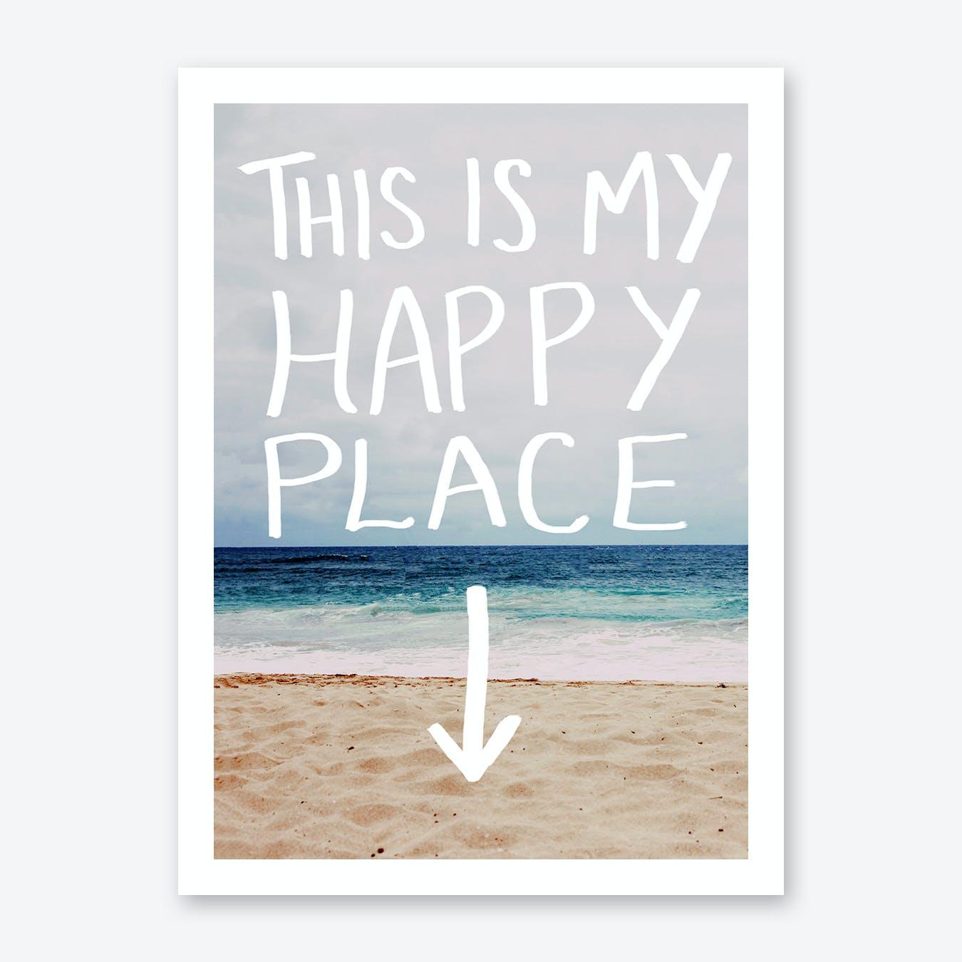 Happy Place Print