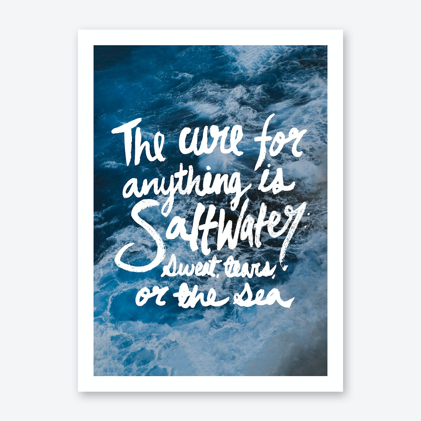 Saltwater Cure Print
