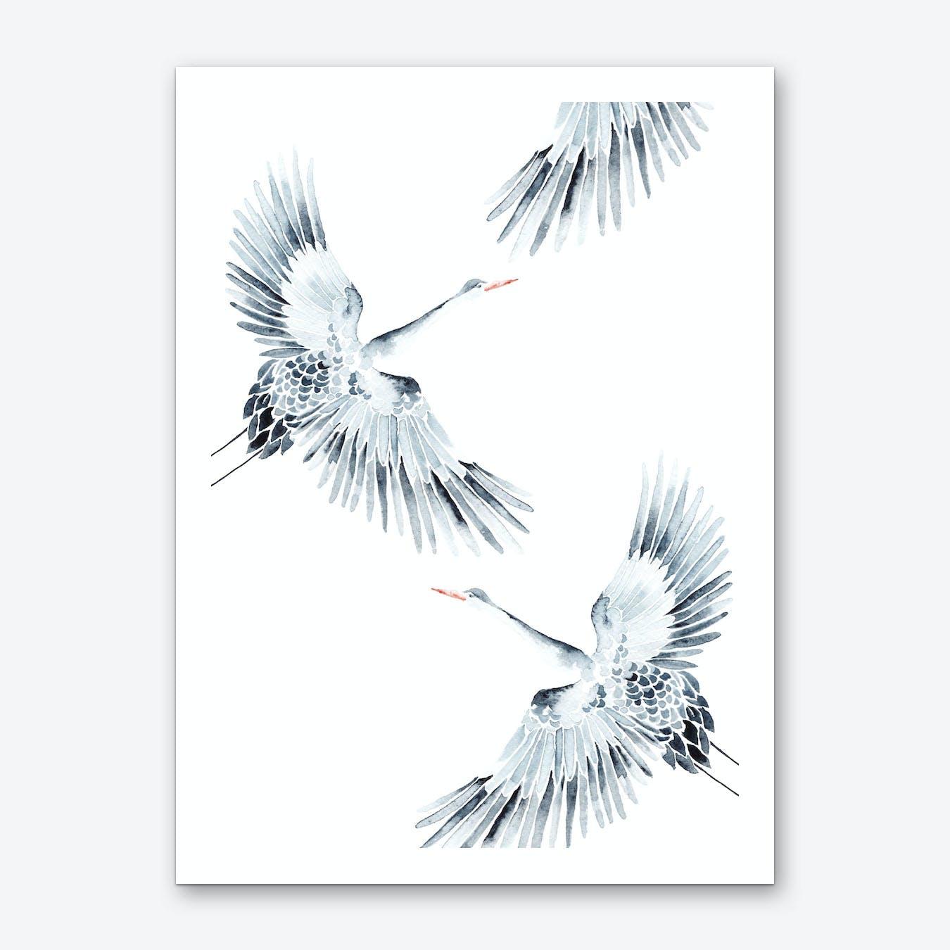 Cranes 1 Print
