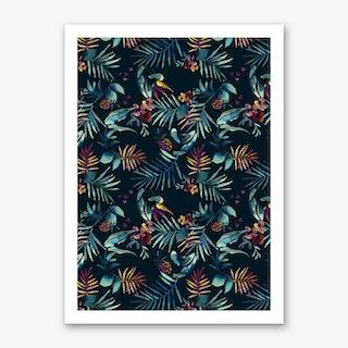 Dark Tropic Art Print