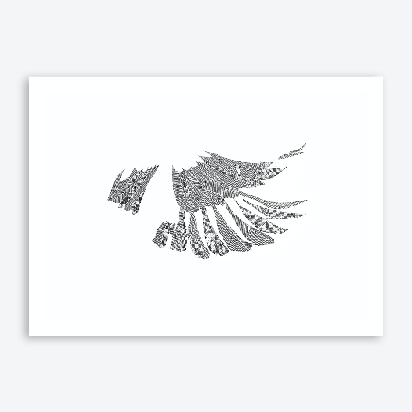 Beauty Of Flight Print