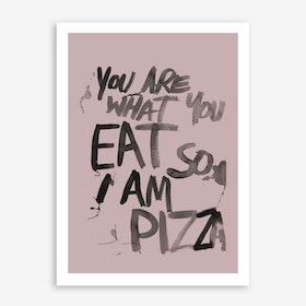 Pizza Main Art Print