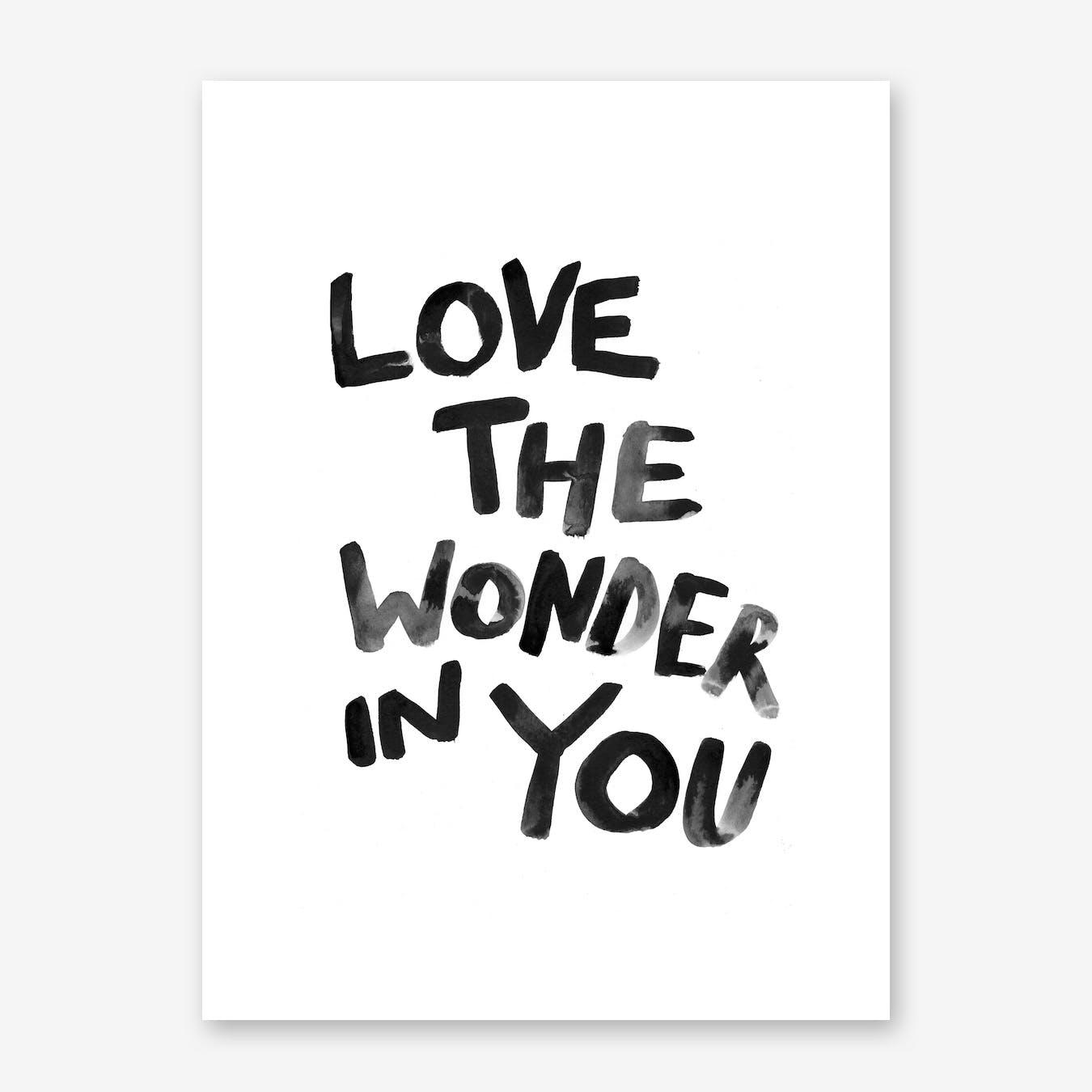 Wonder I