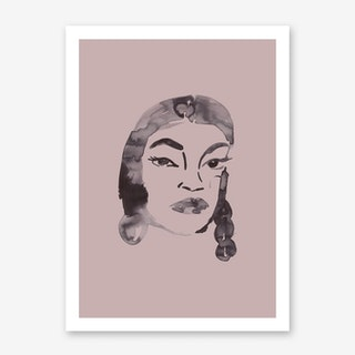 Dusty Blush Art Print