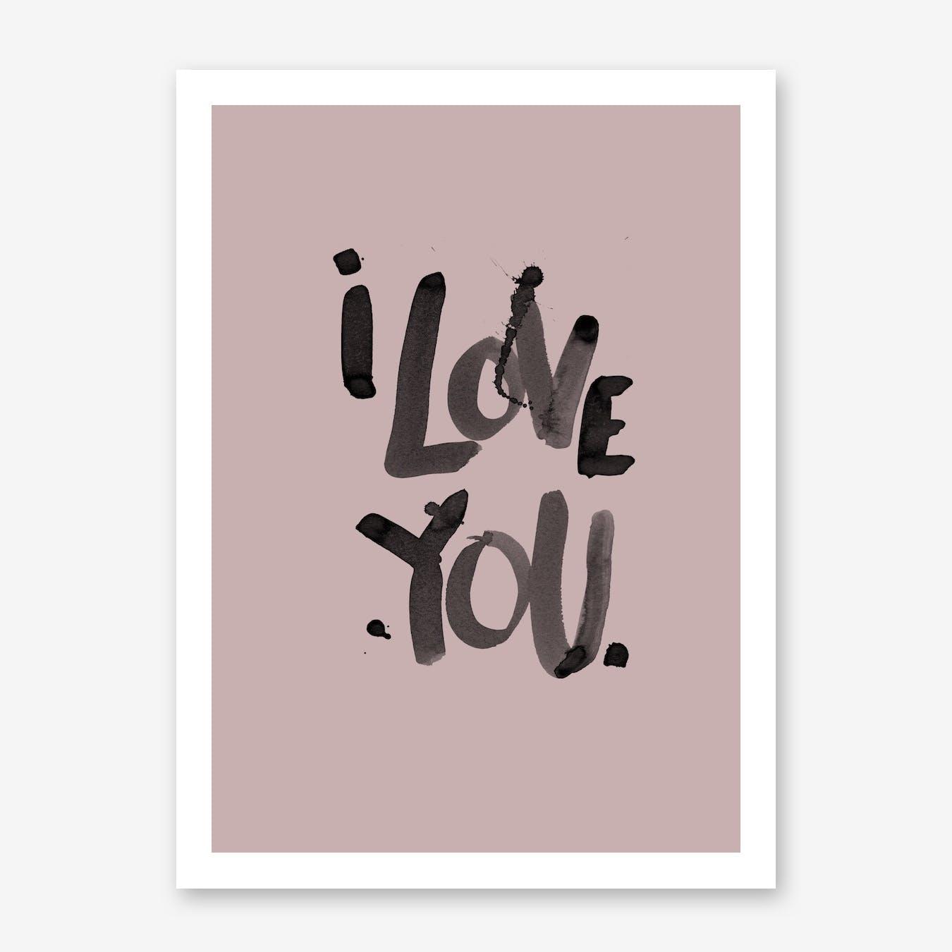 I Love You Blush