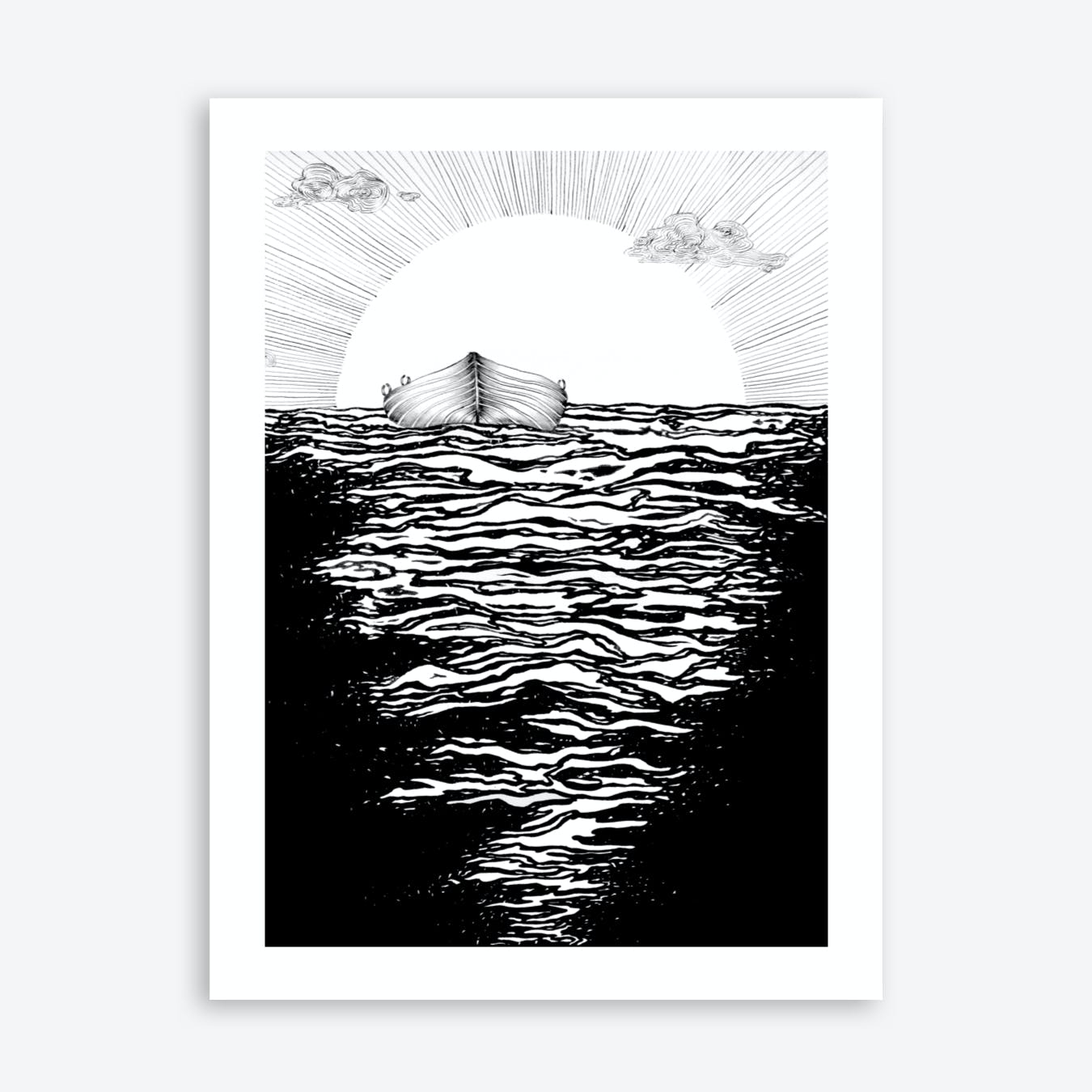 Abandoned By The Sun Print