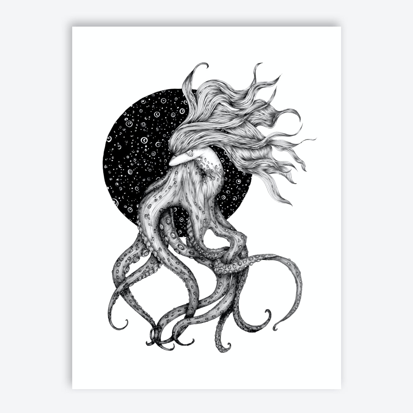 Young Ursula Print