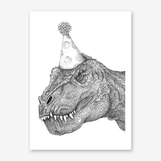 Party Dinosaur Art Print