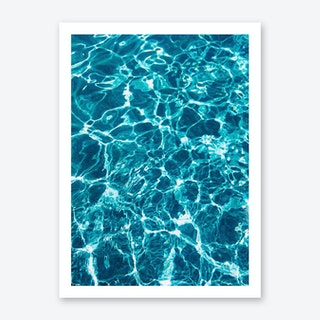 Waaves Art Print