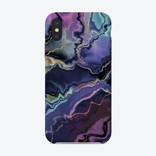 Monis Dreamwaves Marble Gold 1 Phone Case