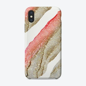 Monis Flawless Coral Wrapped Phone Case