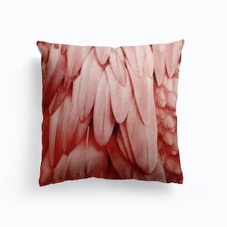 Feathers Flamingo Cushion