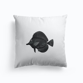 Black Fish Cushion