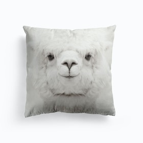 Smiling Alpaca Cushion
