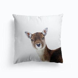 Deer Peekabo Cushion