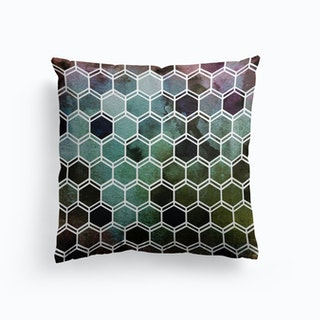 Tweezy Mixed Green Cushion