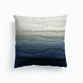 Within The Tides Blue Cushion