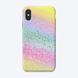 Monis Glitter Unicorn Rainbow Phone Case