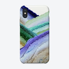 Monis Flawless Secret Aqua Phone Case