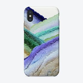 Monis Flawless Secret Aqua Phone Case