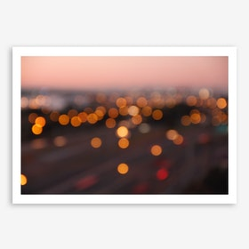 Good Morning L.A. in Art Print