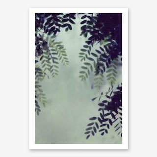 Leaves Greenery in Art Print