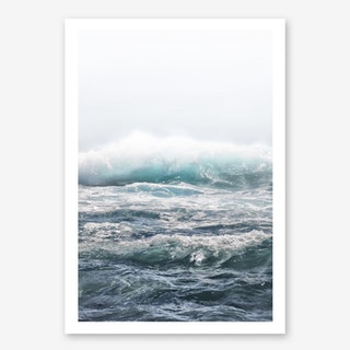 Big Splash Hawaii in Art Print