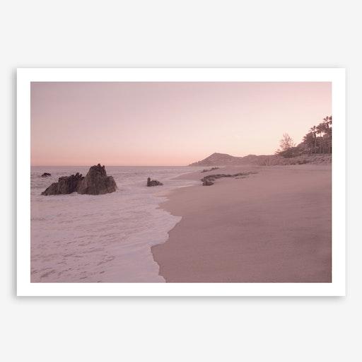 Rosegold Beach in Print
