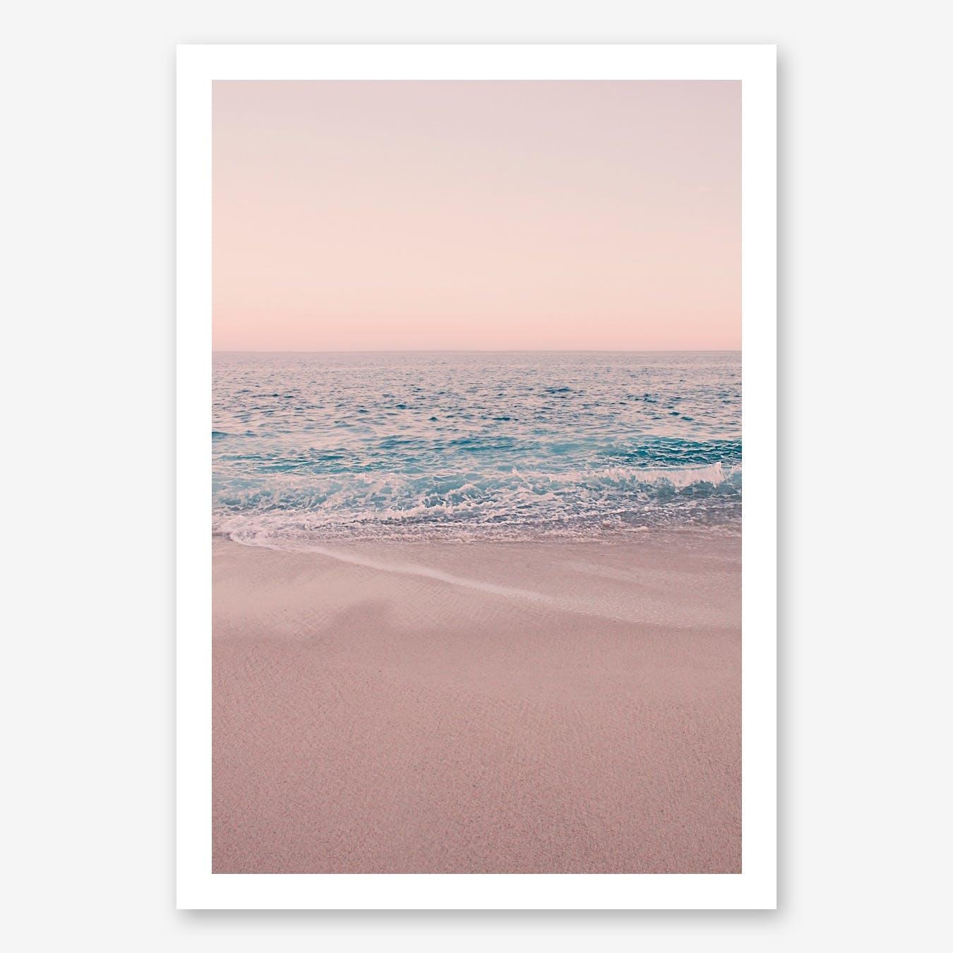 Rosegold Beach Morning in Print