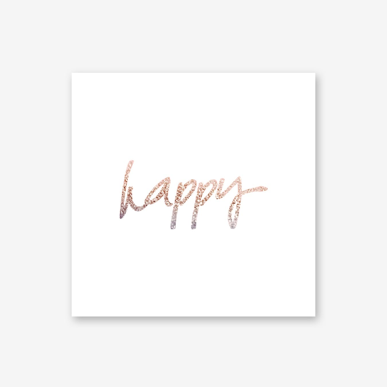 Rosegold Happy