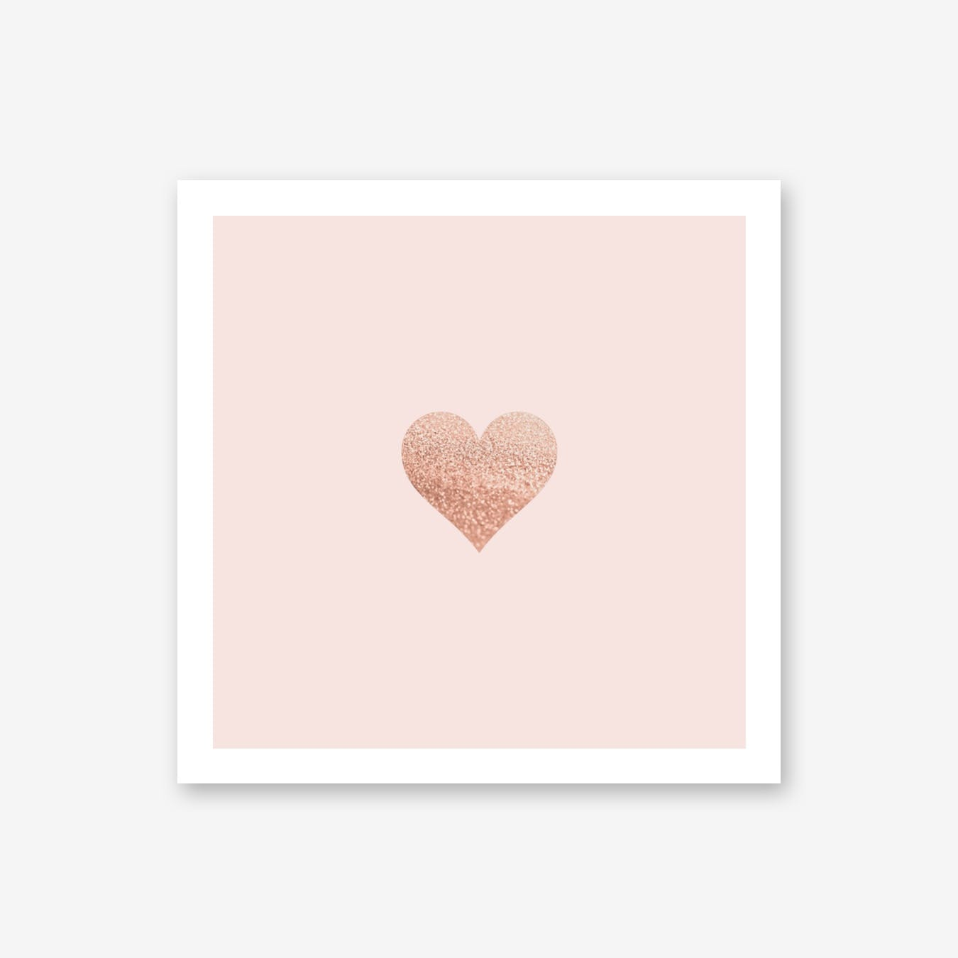 Rosegold Heart Blush