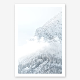 White Mountain I in Art Print