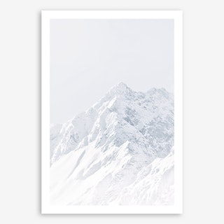White Mountain II in Art Print