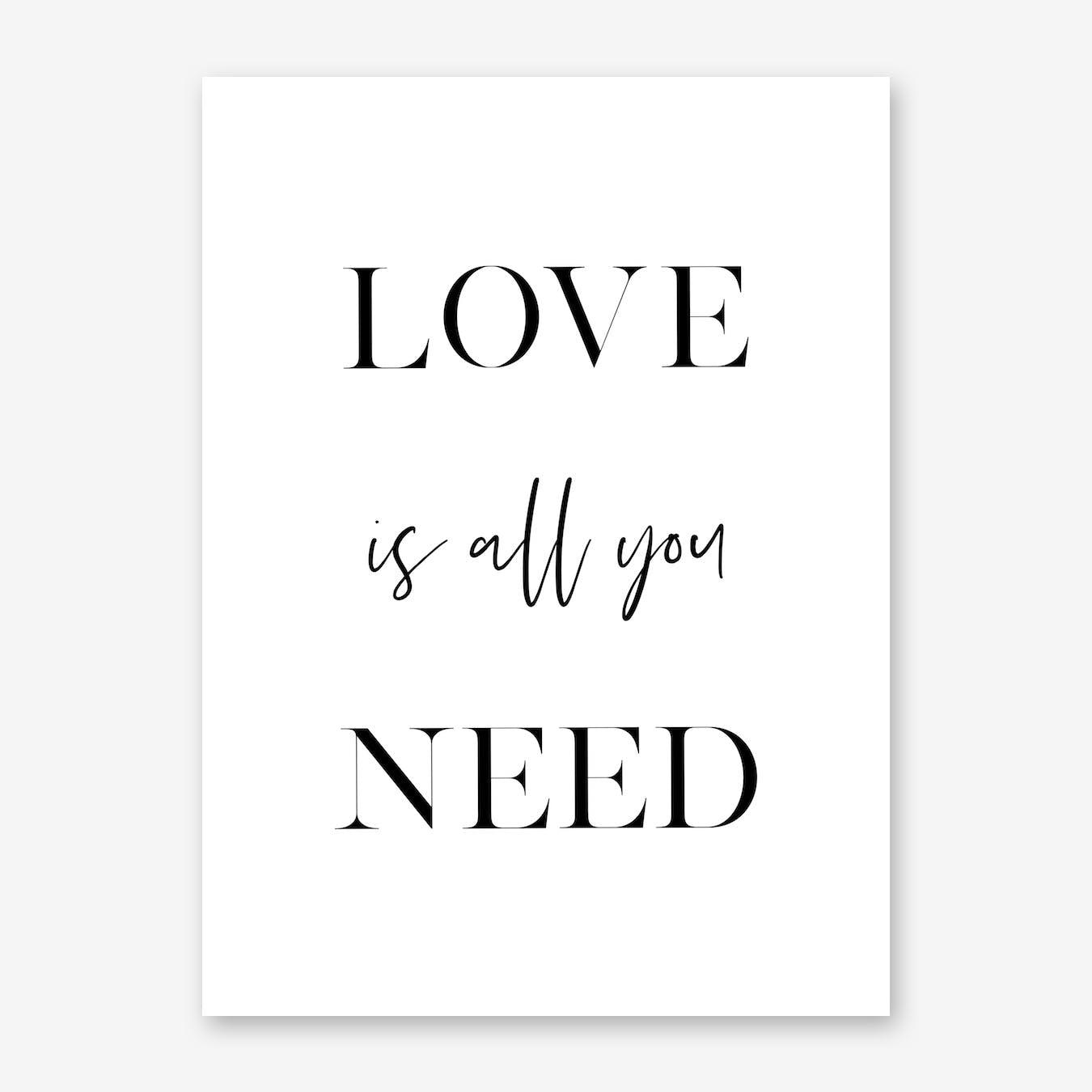 Love Is All You Need II