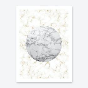 Marble Shape Art Print