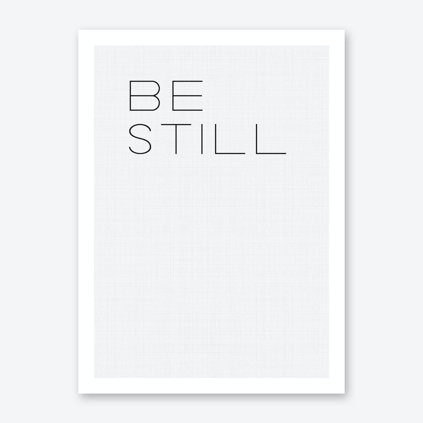 Be Still My Soul 1 Print