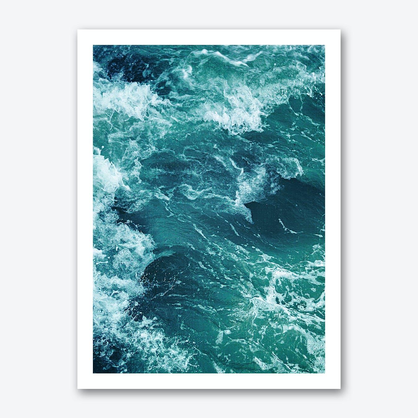 Ocean Waves 1 Print