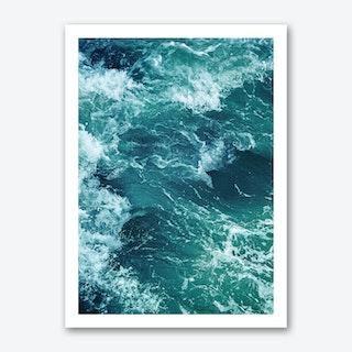 Ocean Waves 1 Art Print