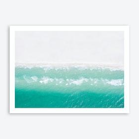 Ocean Waves 3 Art Print
