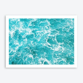 Ocean Waves 4 Art Print