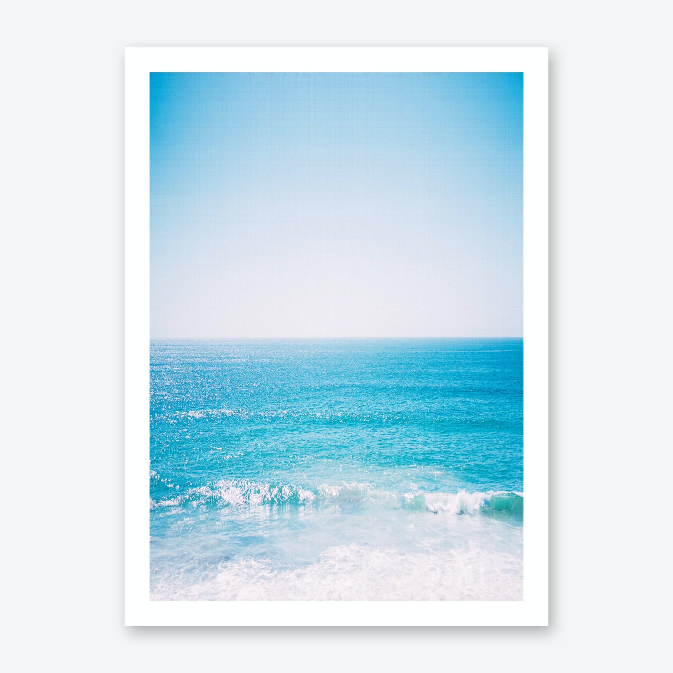Ocean Waves Print