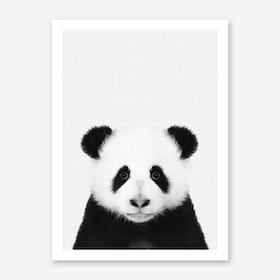 Panda Portrait Art Print