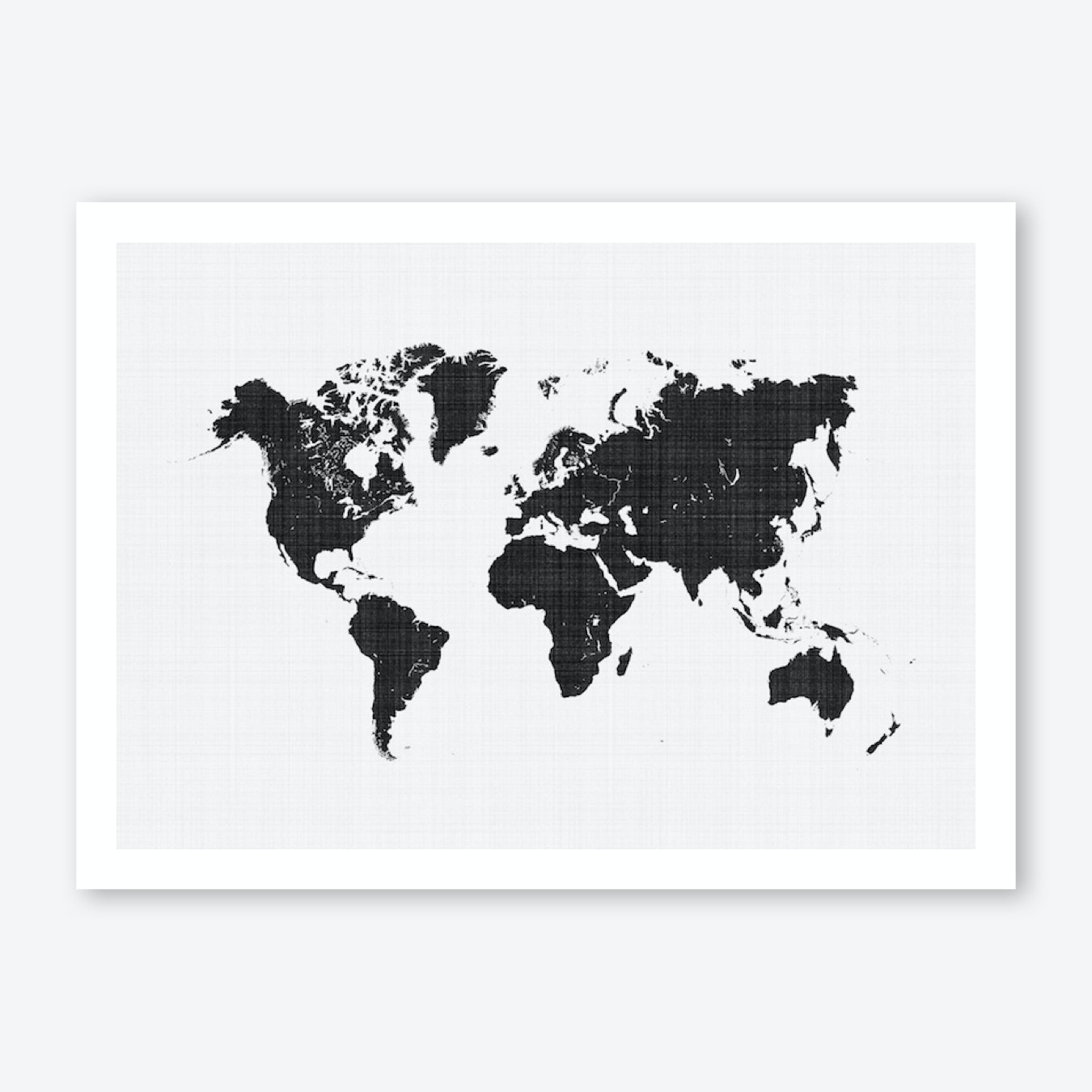 World Map Print World Map Print | Free Shipping | Fy
