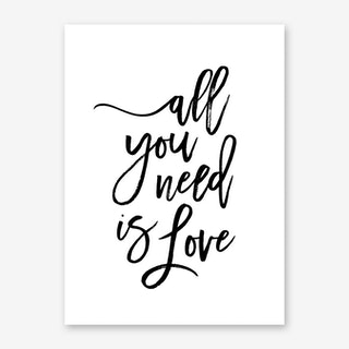 All You Need Is Love III Art Print