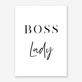 Boss Lady II Art Print