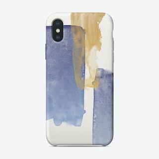 Brush Strokes I iPhone Case