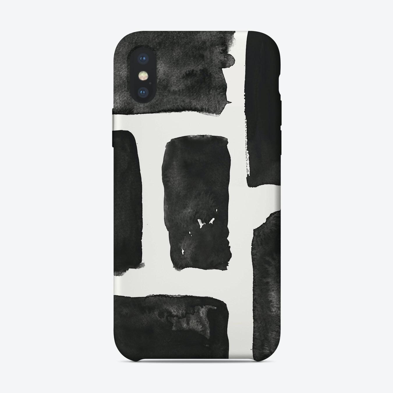 new product d5e2b 14435 Six Brush Strokes iPhone Case