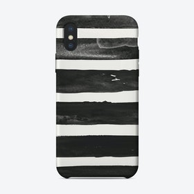 Brush Stripes iPhone Case
