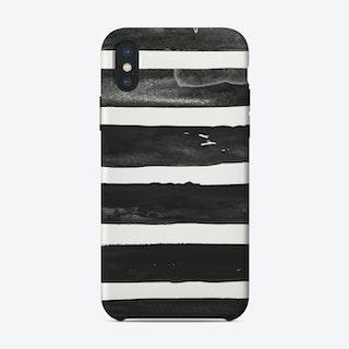 Brush Stripes iPhone Case
